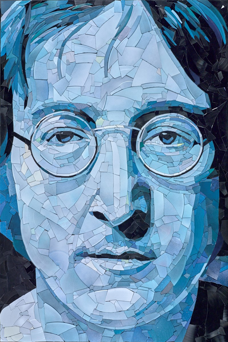John Lennon by ed chapman -  sized 28x41 inches. Available from Whitewall Galleries